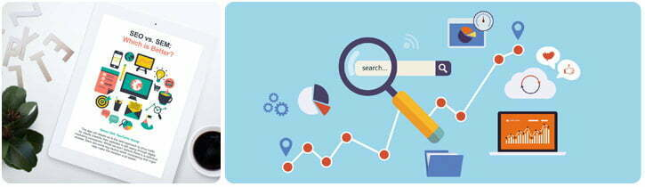 SEO and SEM Search Marketing